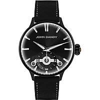 orologio solo tempo uomo John Dandy JD-3248M/03