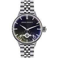 orologio solo tempo uomo John Dandy JD-3248M/04M
