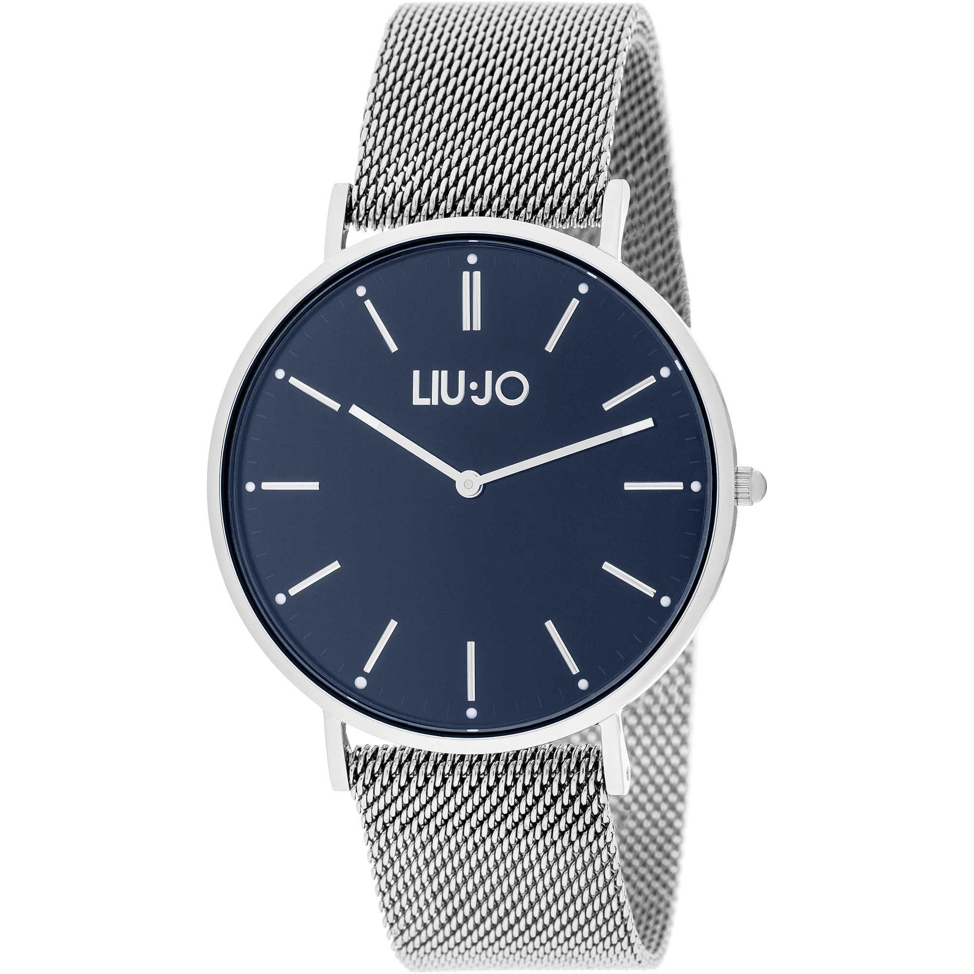 57a1175a93af9 orologio solo tempo uomo Liujo Navy TLJ1254 solo tempo Liujo