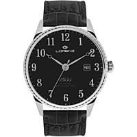 orologio solo tempo uomo Lorenz 1934 030102BB