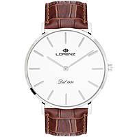 orologio solo tempo uomo Lorenz Classico Elegante 030083AA
