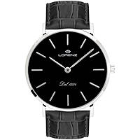 orologio solo tempo uomo Lorenz Classico Elegante 030083BB