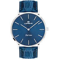 orologio solo tempo uomo Lorenz Classico Elegante 030083CC