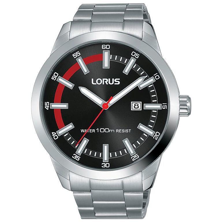 vendite calde prezzo competitivo stilista orologio solo tempo uomo Lorus Sports RH947JX9 solo tempo Lorus