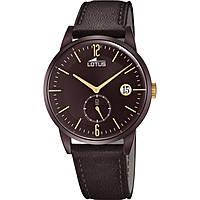 orologio solo tempo uomo Lotus Minimalist 18363/1