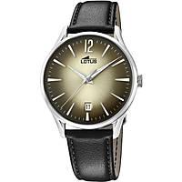 orologio solo tempo uomo Lotus Revival 18402/2