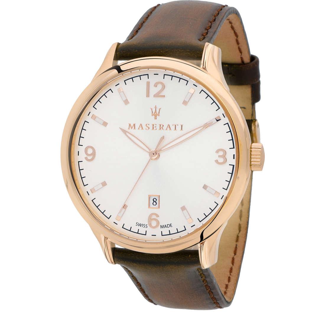 orologio solo tempo uomo Maserati Attrazione R8851126002