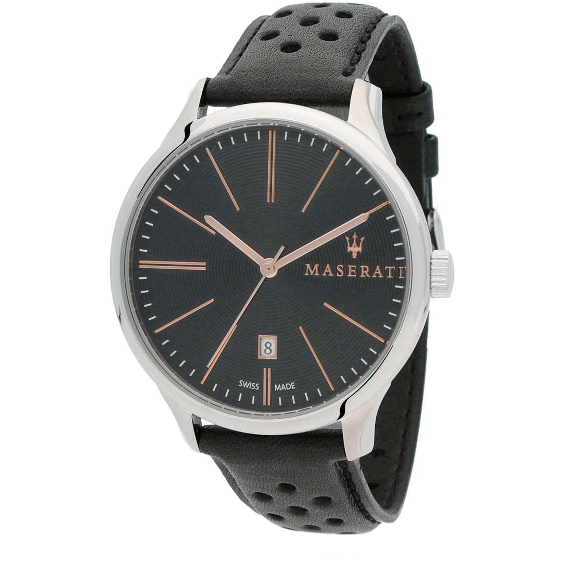 orologio solo tempo uomo Maserati Attrazione R8851126003