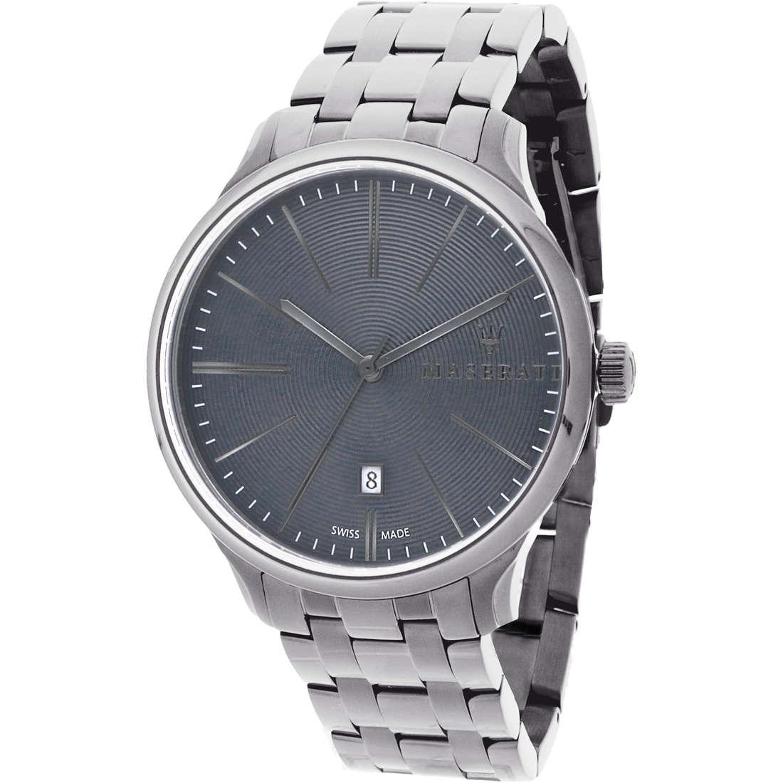 orologio solo tempo uomo Maserati Attrazione R8853126001