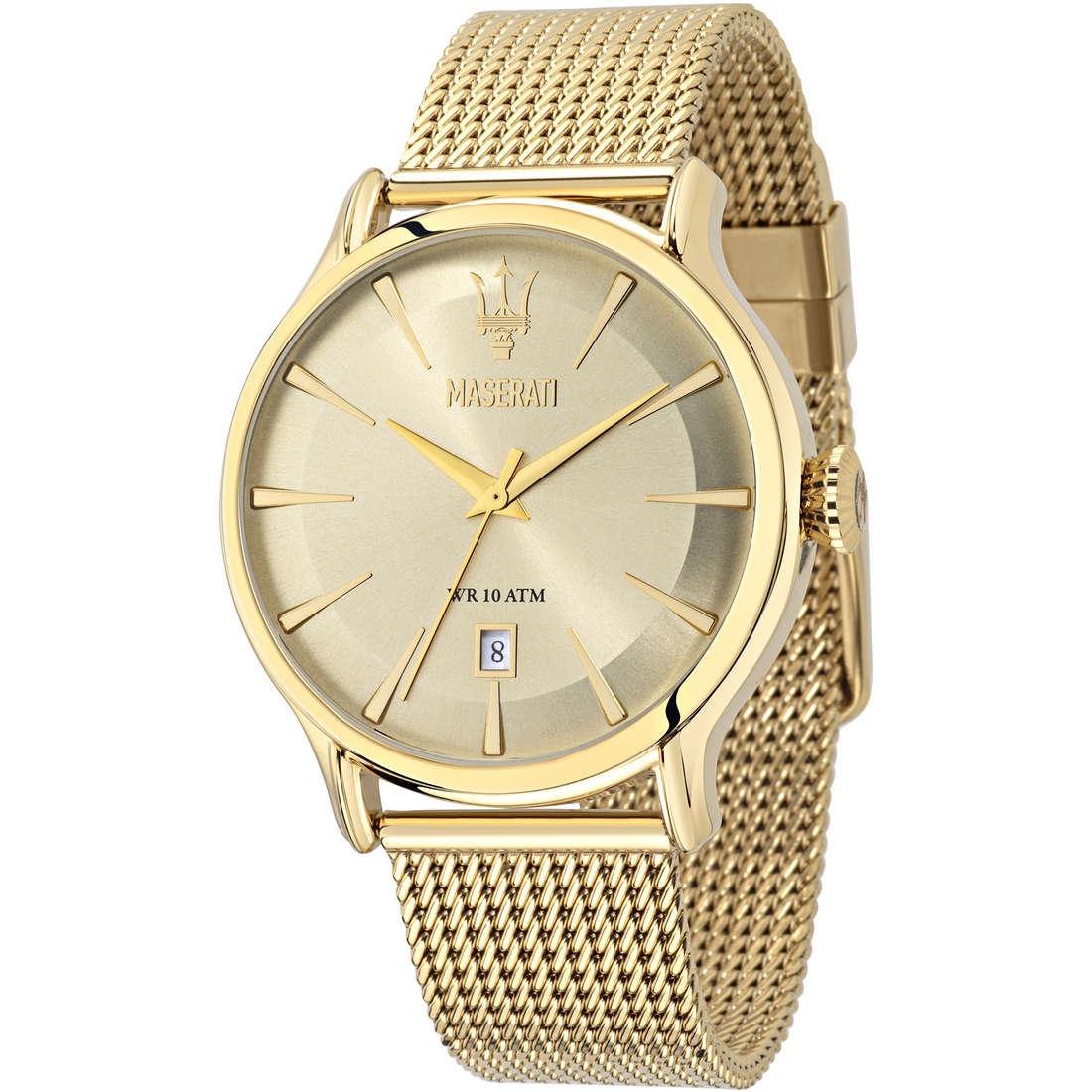 orologio solo tempo uomo Maserati Epoca R8853118003