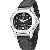 orologio solo tempo uomo Maserati Fuori Classe R8851116004