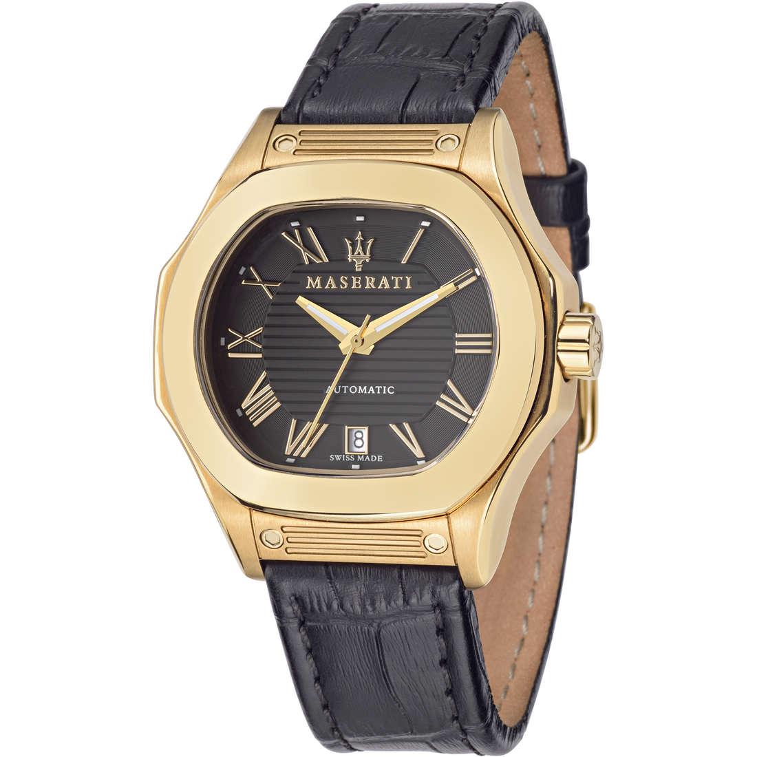 orologio solo tempo uomo Maserati Fuoriclasse R8851116006