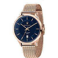 orologio solo tempo uomo Maserati  Gentleman R8853136003