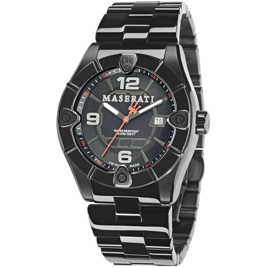 orologio solo tempo uomo Maserati MECCANICA R8853111001