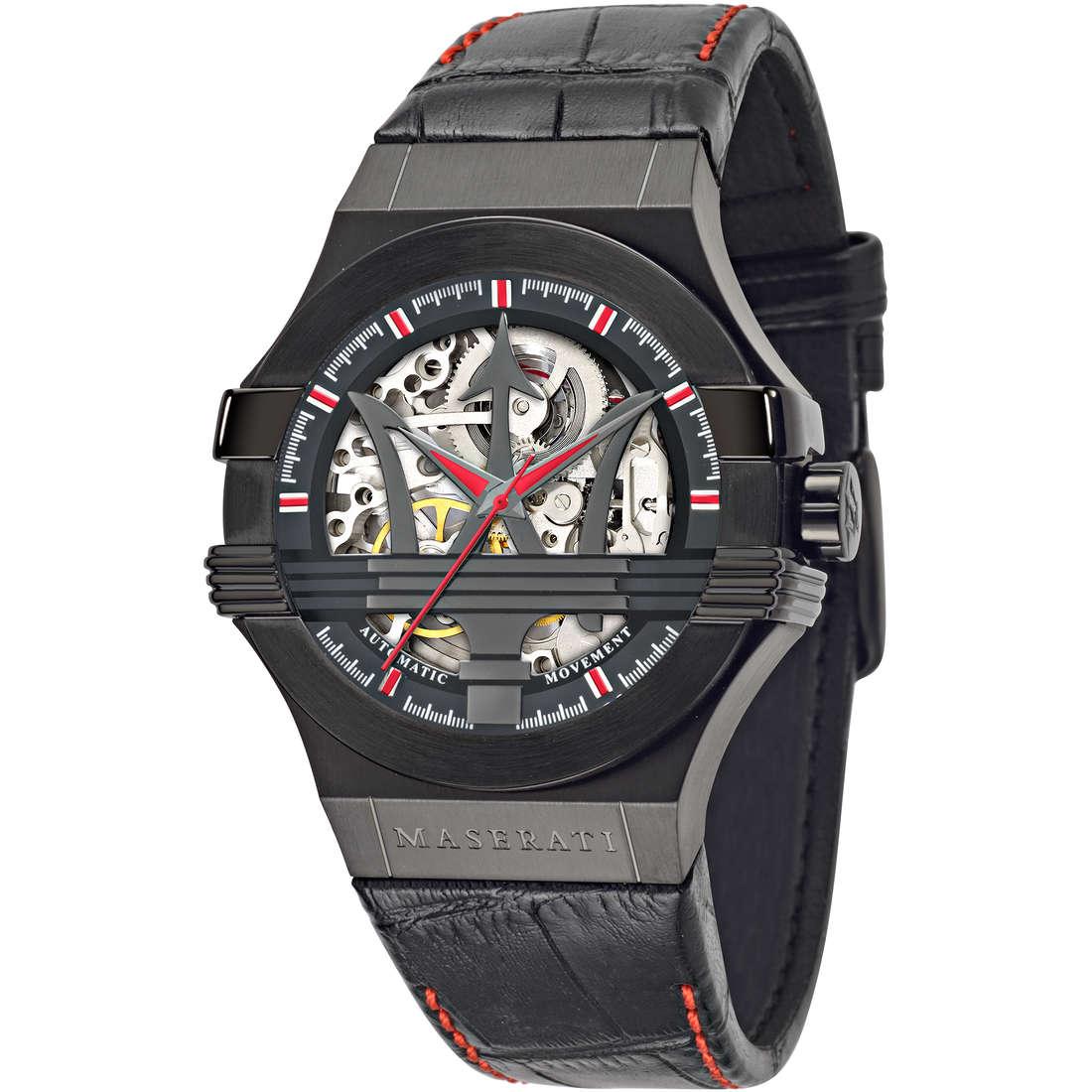 orologio solo tempo uomo Maserati POTENZA R8821108010