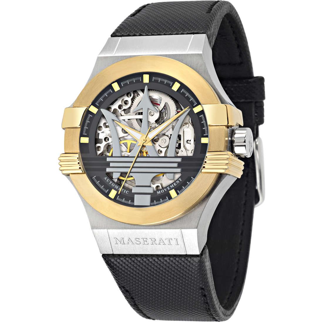 orologio solo tempo uomo Maserati POTENZA R8821108011