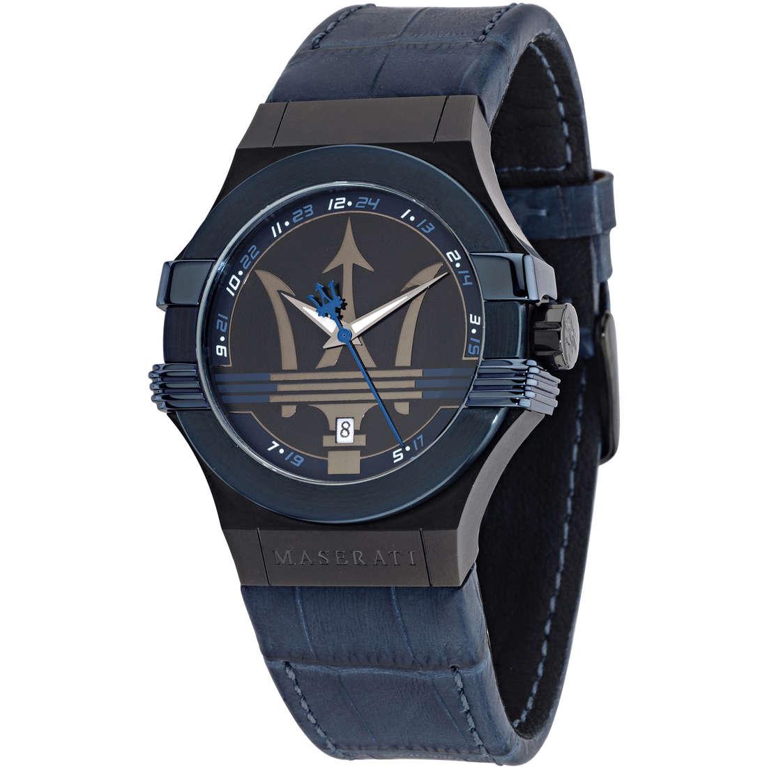 orologio solo tempo uomo Maserati POTENZA R8851108007