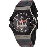orologio solo tempo uomo Maserati Potenza R8851108010