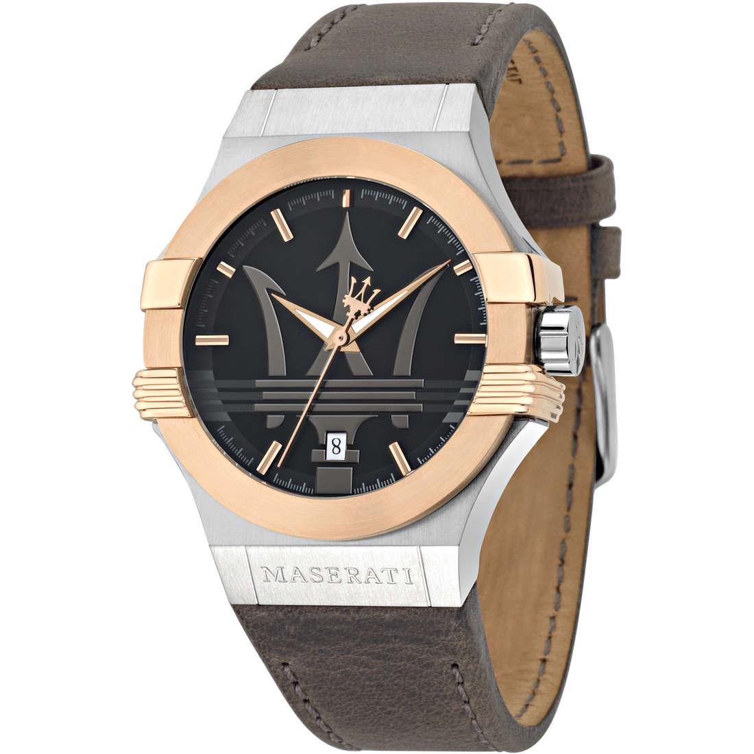 orologio solo tempo uomo Maserati POTENZA R8851108014