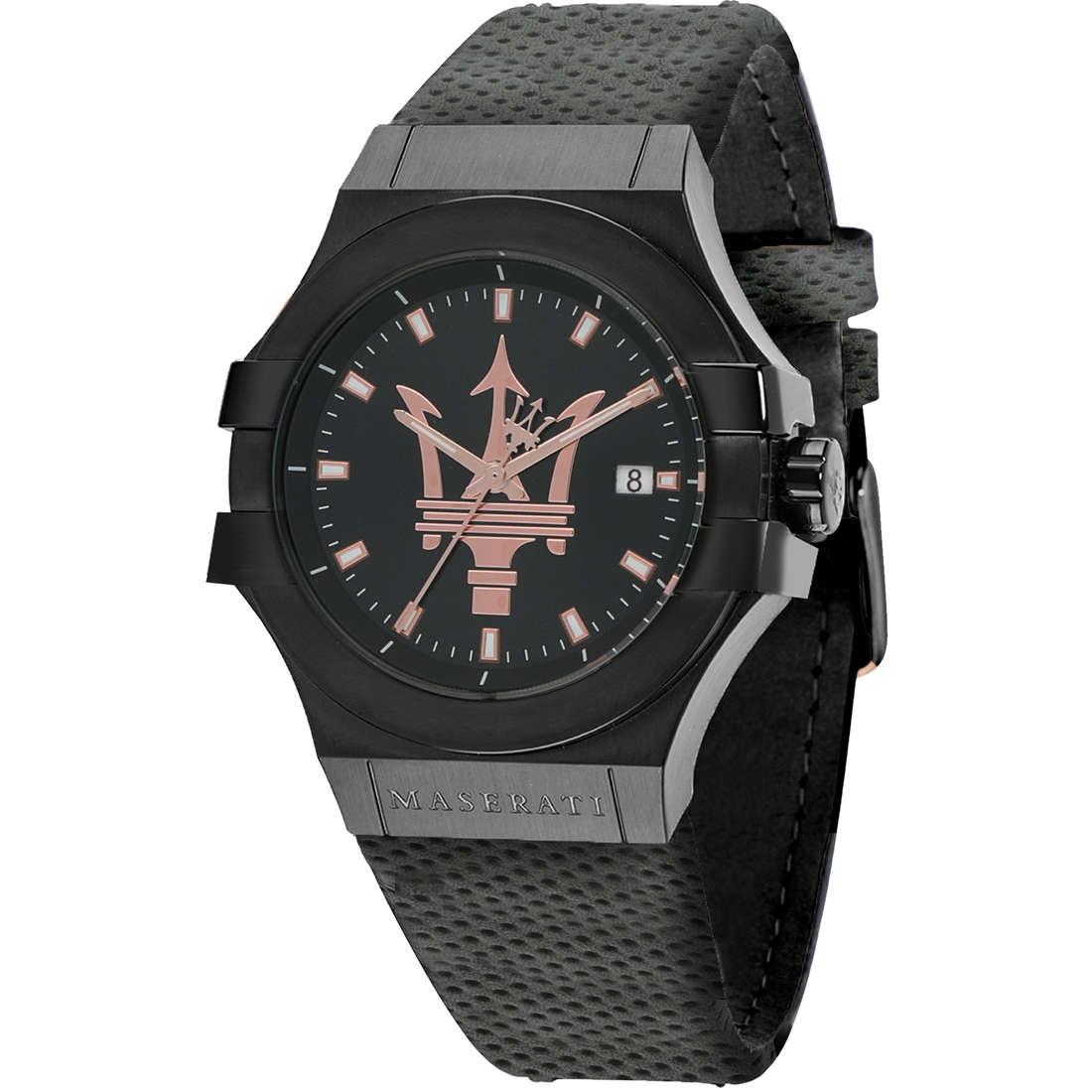 orologio solo tempo uomo Maserati Potenza R8851108016