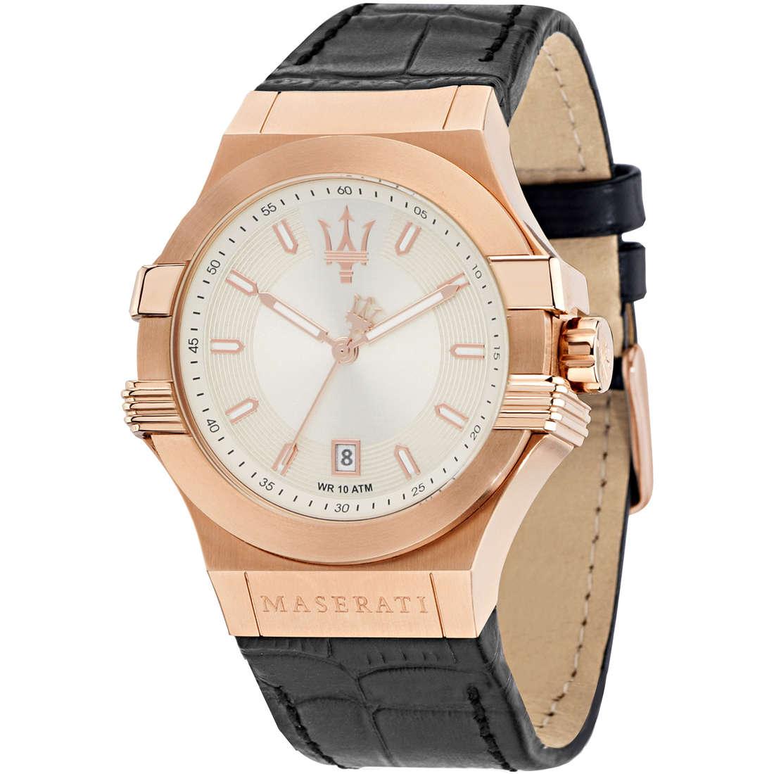 orologio solo tempo uomo Maserati Potenza R8851108019
