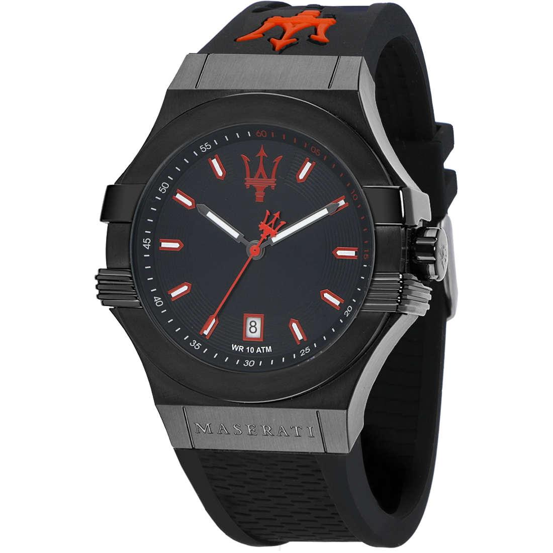 orologio solo tempo uomo Maserati Potenza R8851108020
