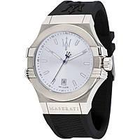 orologio solo tempo uomo Maserati Potenza R8851108022