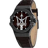 orologio solo tempo uomo Maserati Potenza R8851108026