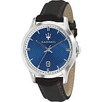 orologio solo tempo uomo Maserati Ricordo R8851125007