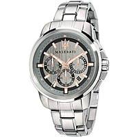 orologio solo tempo uomo Maserati Successo R8873621004