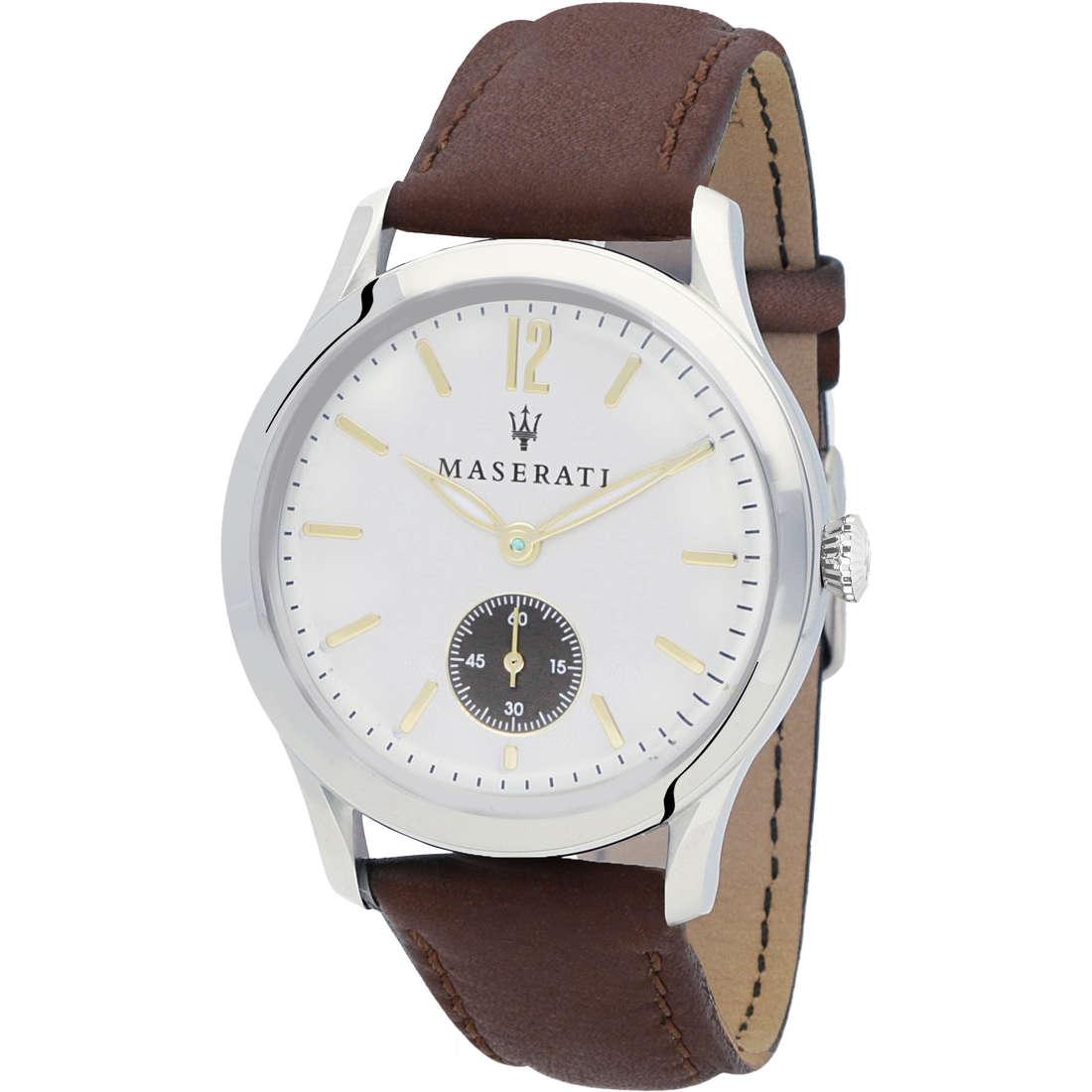 orologio solo tempo uomo Maserati Tradizione R8851125001
