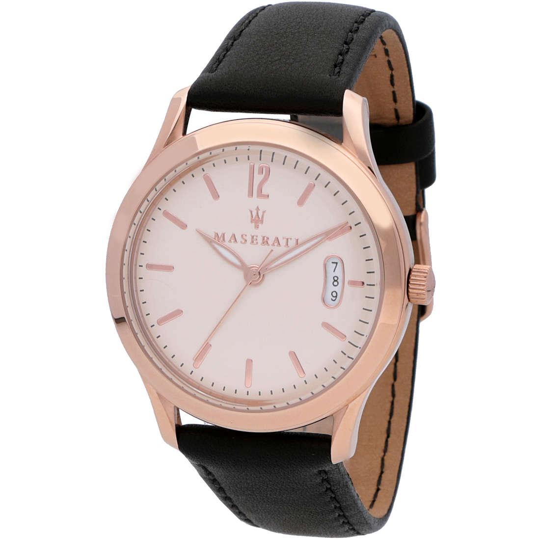 orologio solo tempo uomo Maserati Tradizione R8851125002
