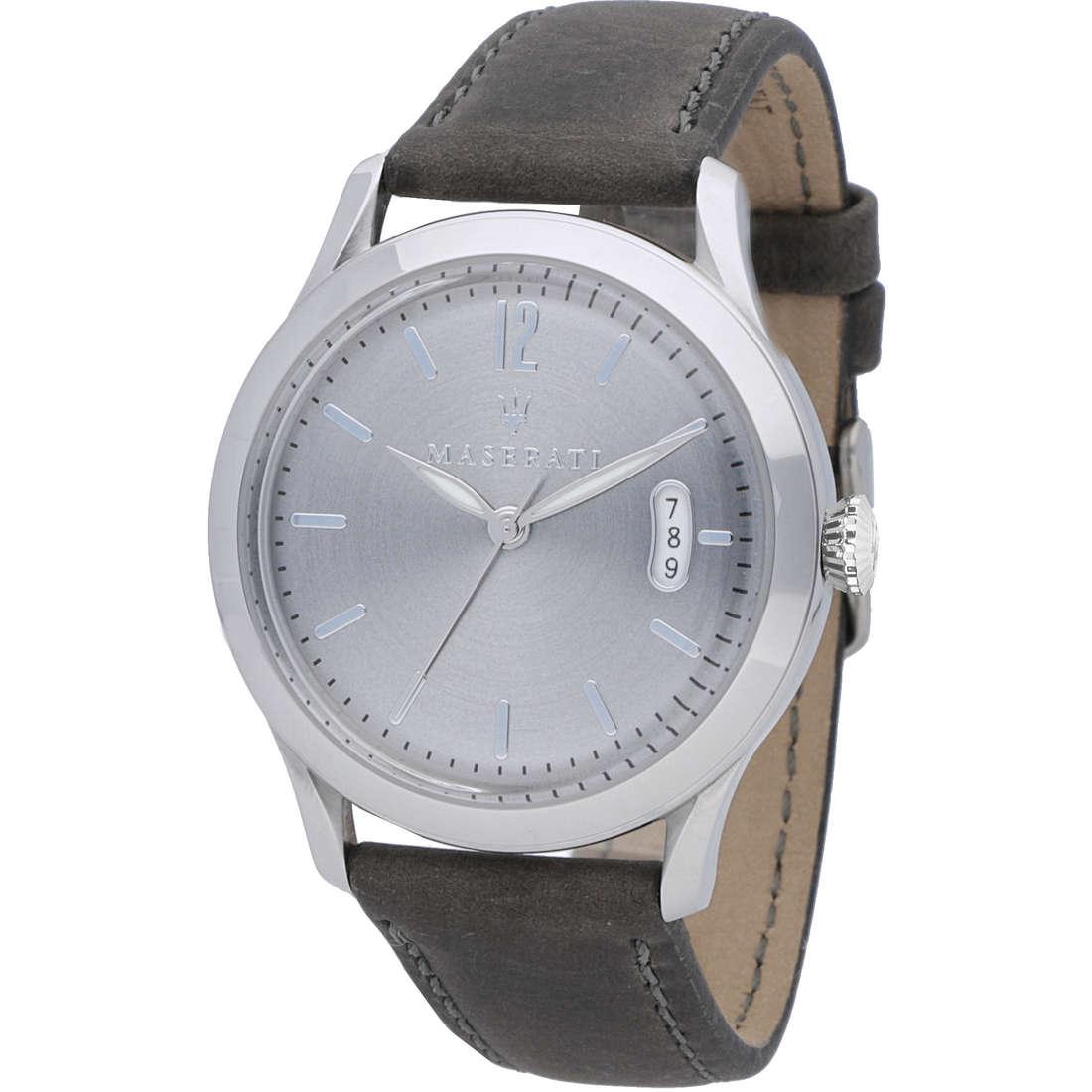 orologio solo tempo uomo Maserati Tradizione R8851125004