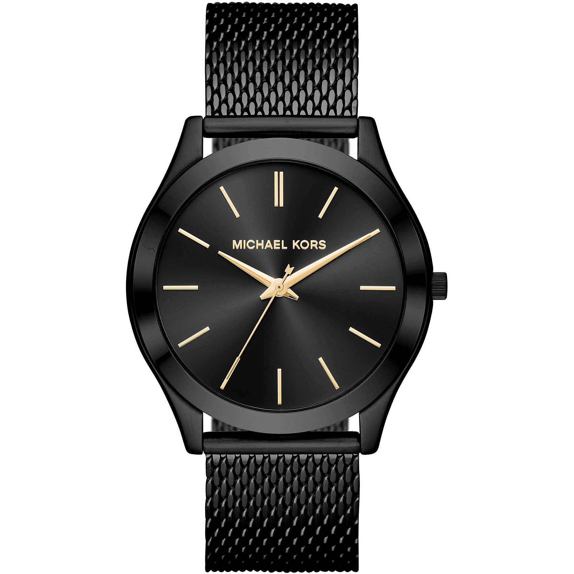 60a28a948b orologio solo tempo uomo Michael Kors Slim Runway MK8607 solo tempo ...