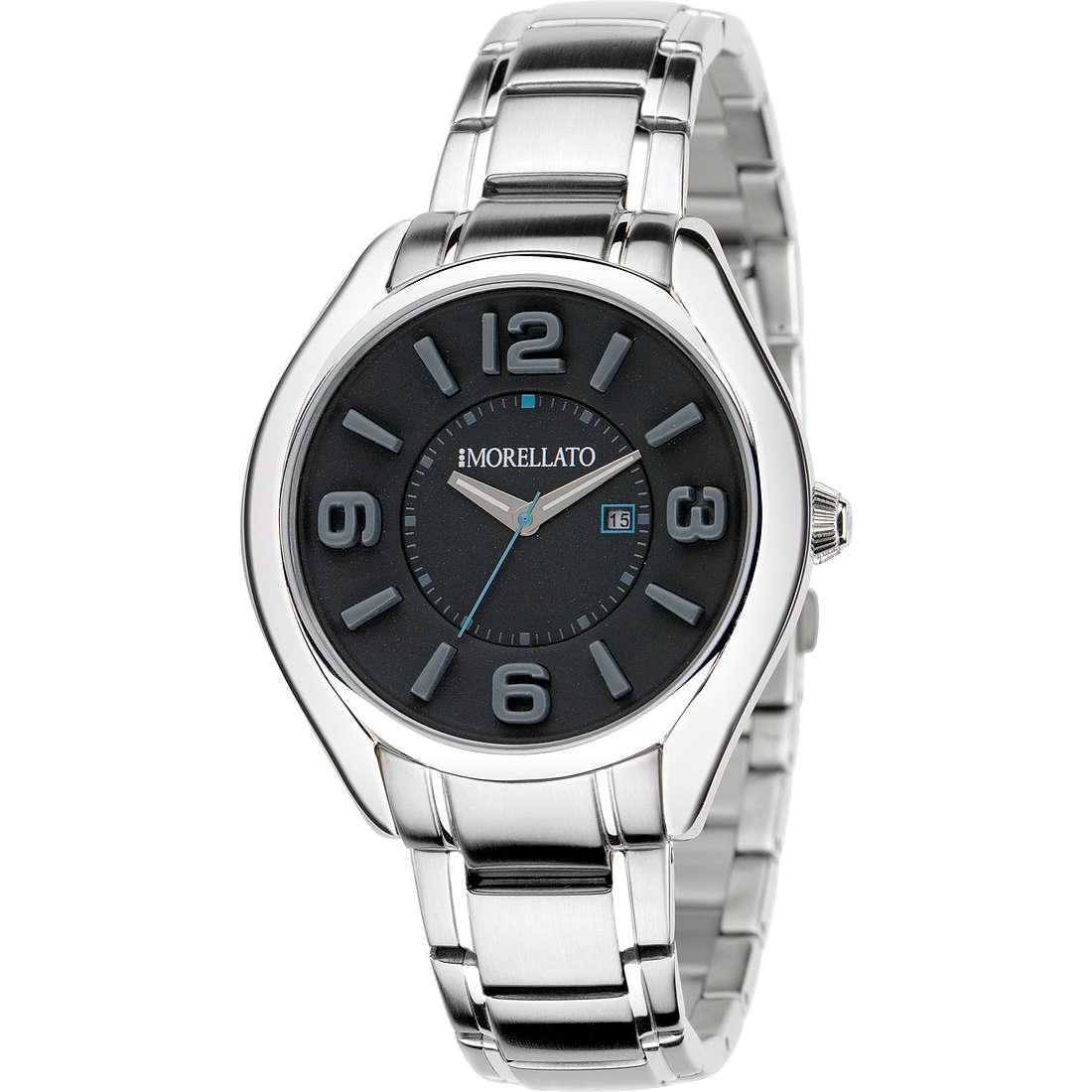 orologio solo tempo uomo Morellato Black & White R0153104004