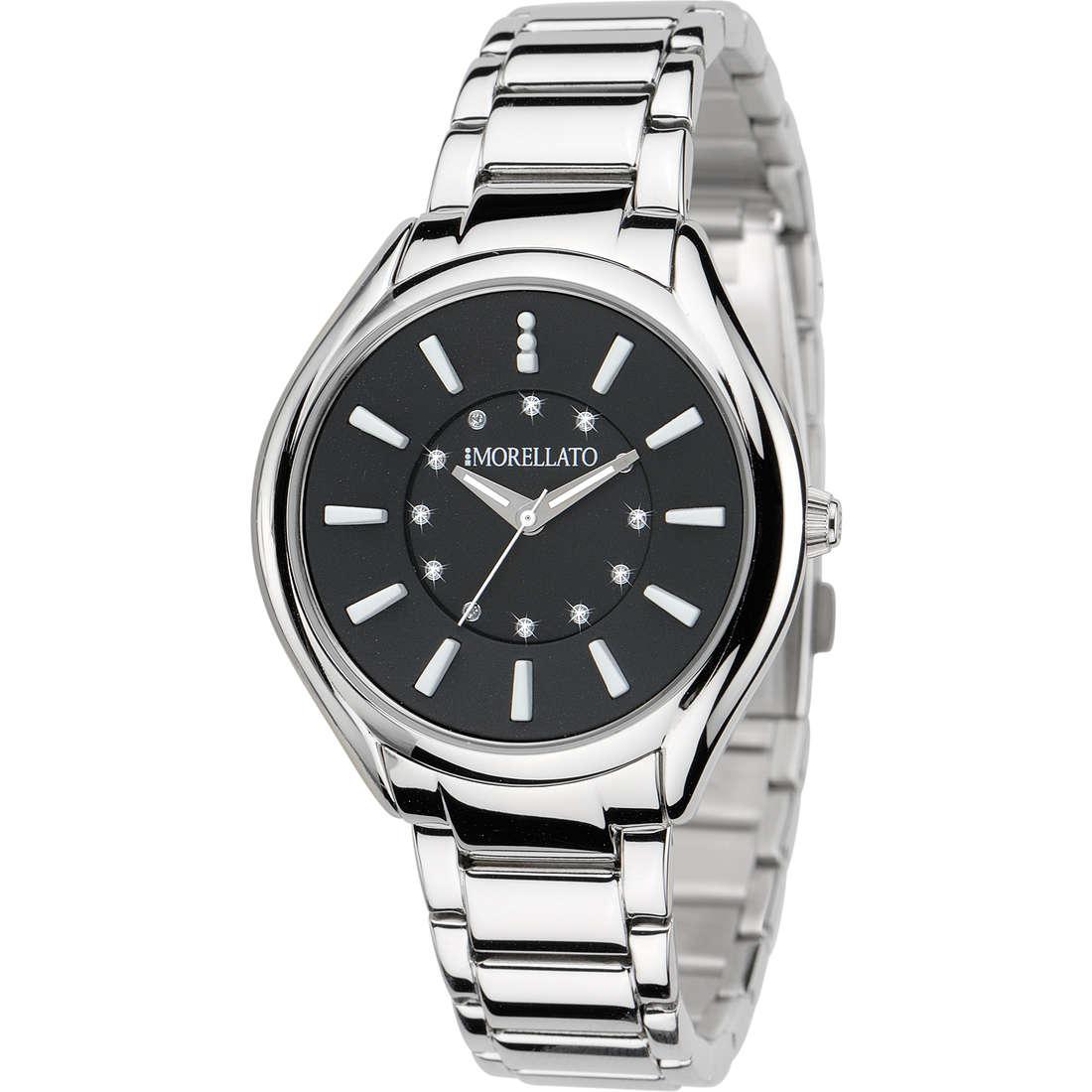 orologio solo tempo uomo Morellato Black & White R0153104502