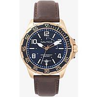 orologio solo tempo uomo Nautica Pilot House NAPPLH003