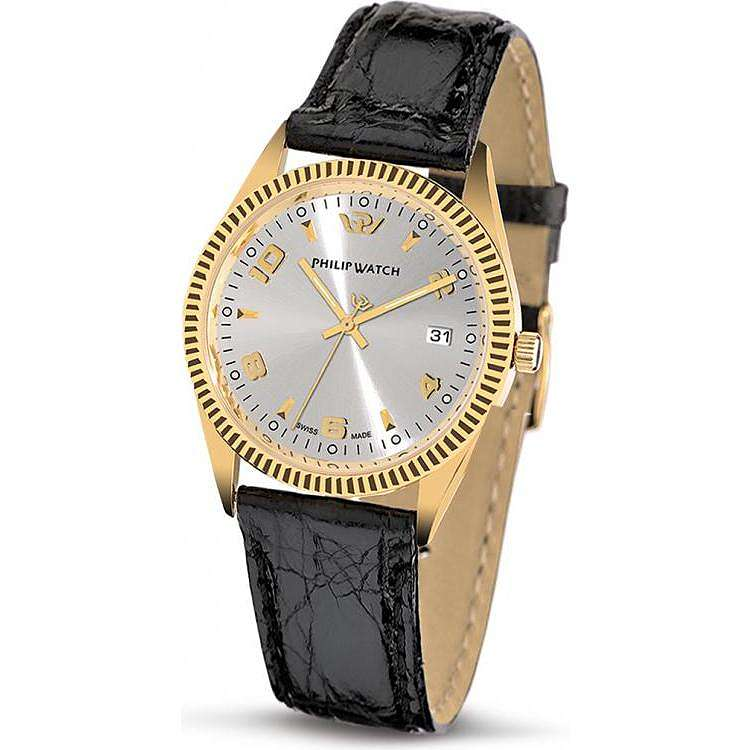 orologio solo tempo uomo Philip Watch Caribe R8051121015