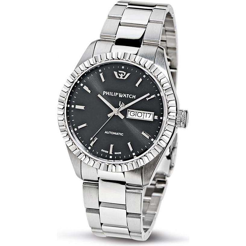 orologio solo tempo uomo Philip Watch Caribe R8223107025