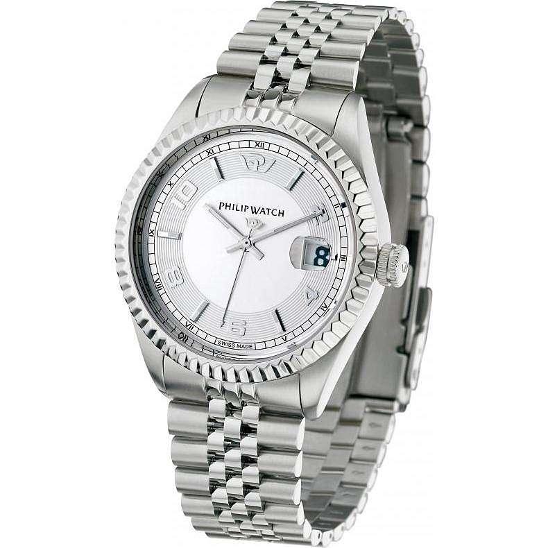 orologio solo tempo uomo Philip Watch Caribe R8253597002