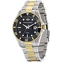 orologio solo tempo uomo Philip Watch Caribe R8253597005