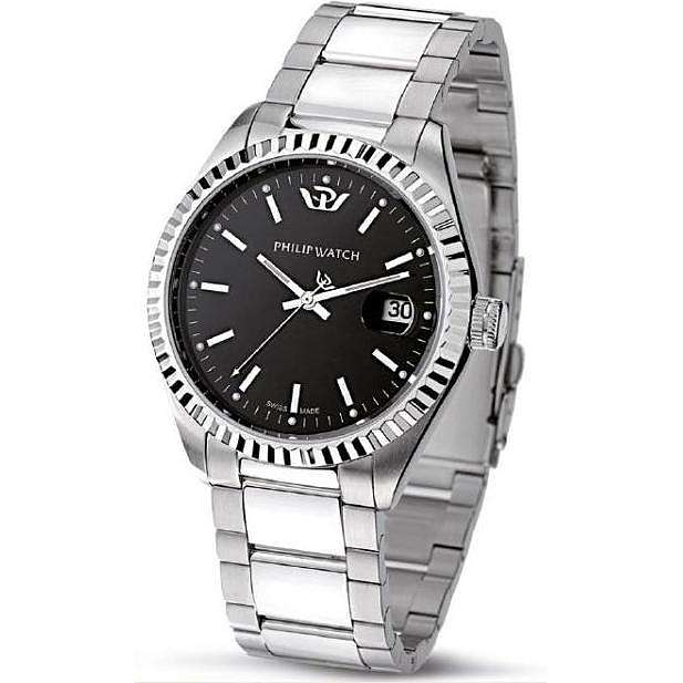 orologio solo tempo uomo Philip Watch Caribe R8253597010