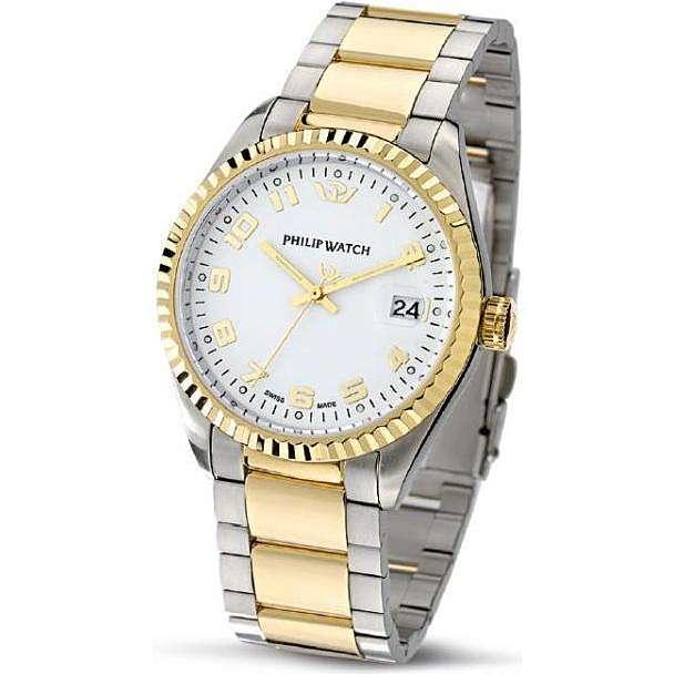 orologio solo tempo uomo Philip Watch Caribe R8253597016