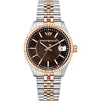 orologio solo tempo uomo Philip Watch Caribe R8253597027