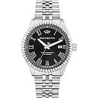 orologio solo tempo uomo Philip Watch Caribe R8253597036