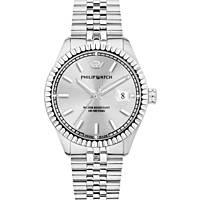orologio solo tempo uomo Philip Watch Caribe R8253597037