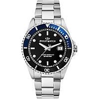 orologio solo tempo uomo Philip Watch Caribe R8253597043