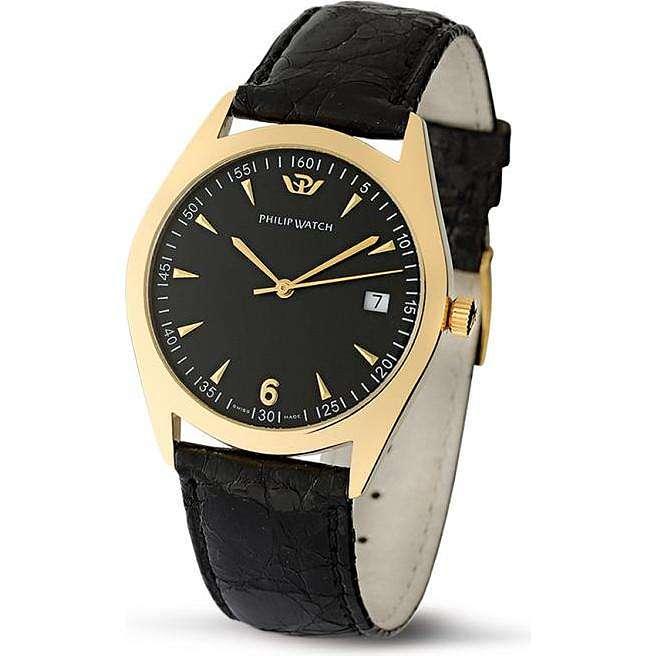 orologio solo tempo uomo Philip Watch Gold Story R8011480081