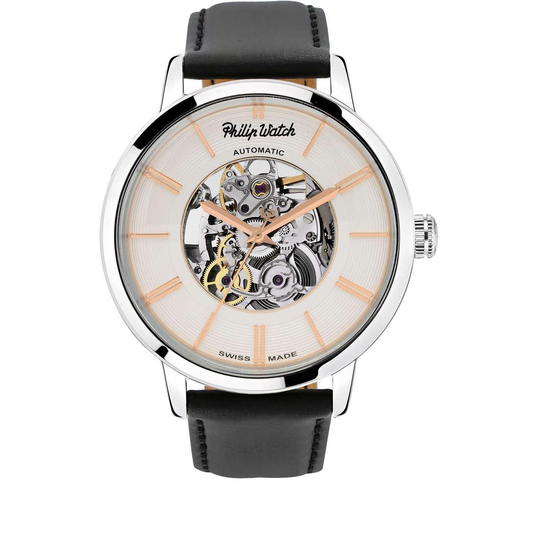 orologio solo tempo uomo Philip Watch Grand Archive R8221598003