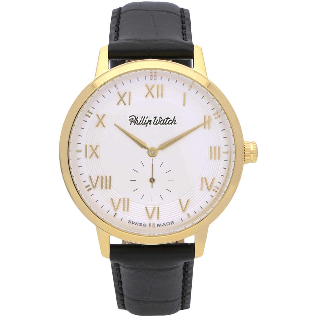 orologio solo tempo uomo Philip Watch Grand Archive R8251598005